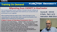 Migrating from CADKEY to KeyCreator